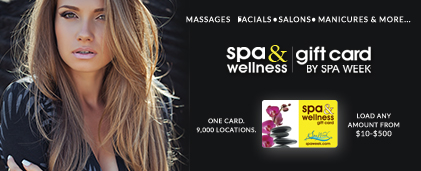 Shop SpaWeek Gift Cards
