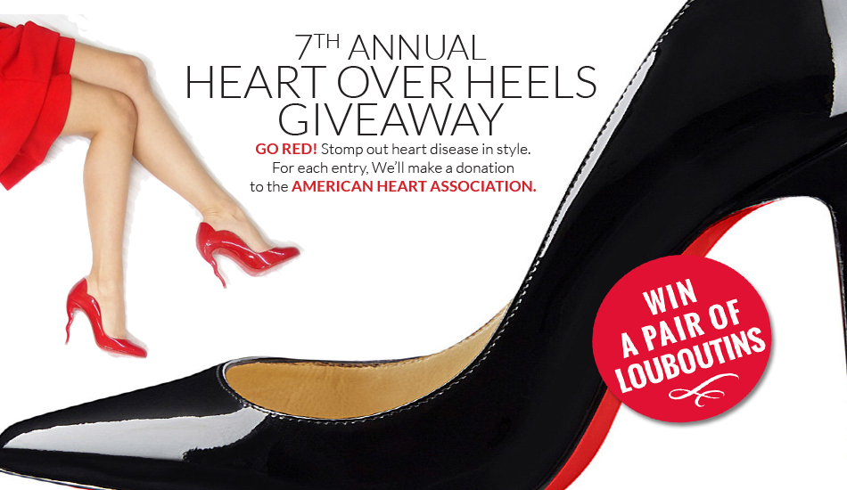 third slide 7th annual heart over heels giveaway