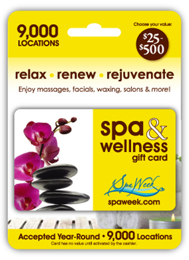 About Us | The Spa & Wellness Gift Card by Spa Week is accepted at 9,000+ spas and wellness locations and on Saybine.com.